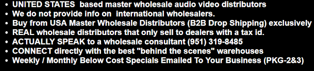 distributor & dropshipping services