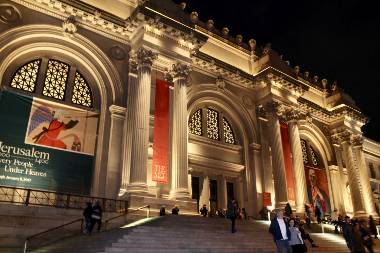 [Day in NYC] The Met by Night