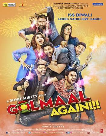 Golmaal Again 2017 Hindi 200MB DVDRip HEVC Mobile ESubs
