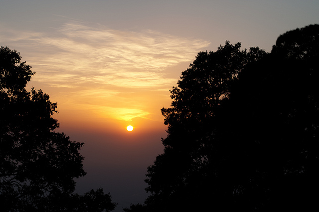 Sunset Point Kasauli