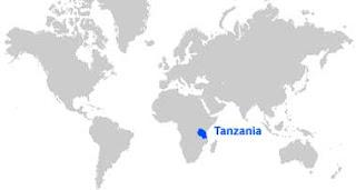 Gambar Peta letak Tanzania