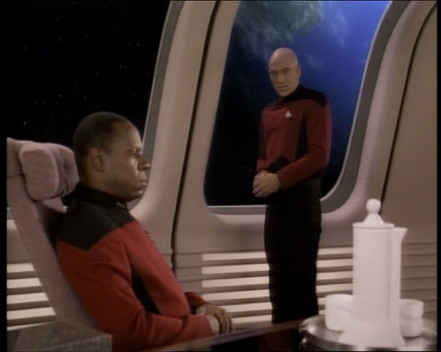 Deep Space Nine Sisko and Picard
