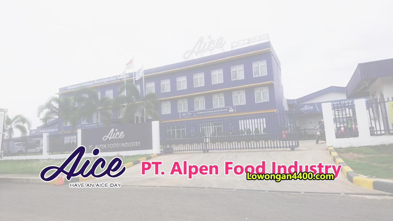PT. Alpen Food Industry Cikarang