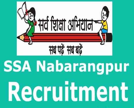 Sarva Shiksha Abhiyan Nabarangpur Odisha Recruitment 2016