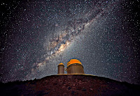 Milky Way Galaxy above the ESO 3.6-metre Telescope