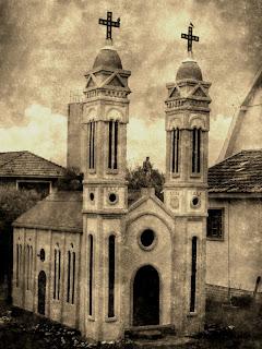 Réplica da Antiga Igreja Matriz de São Pedro, em Itá, SC