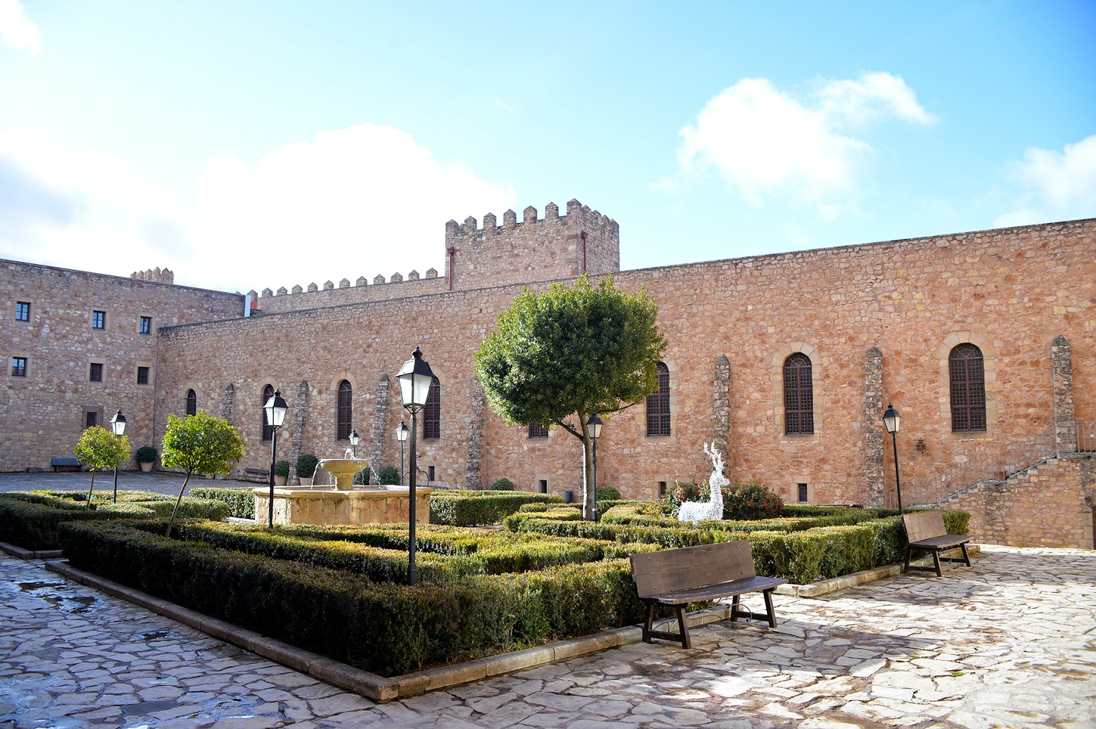 castillo parador sigüenza castle spain españa
