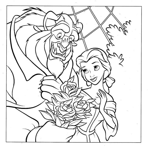 Disney Princess Coloring Pages All Disney Princess Coloring