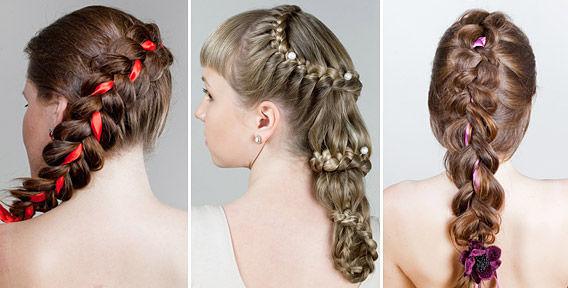 Peinados Y Moda Peinados Con Trenzas Faciles Para Ninas - Trenzas-faciles-para-nia