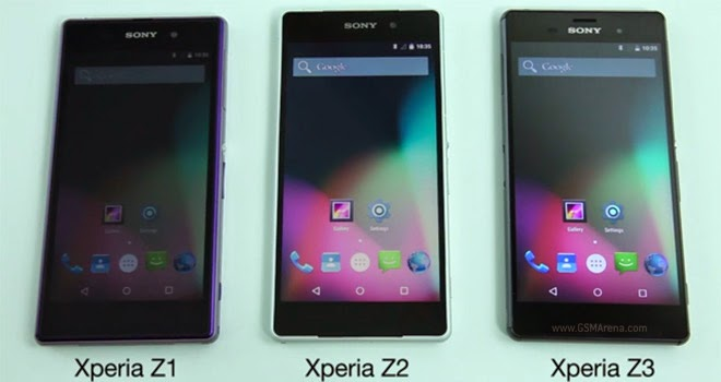Demo Android 5.9 Lollipop on Xperia Z Series