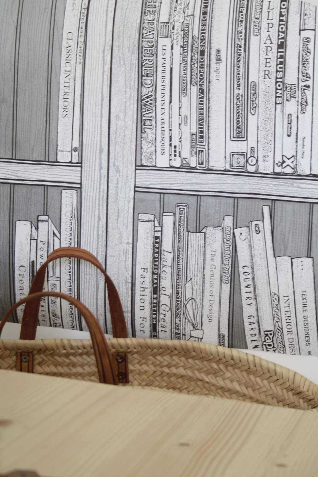 This Bookcase Wallpaper Is Available From Bu0026q And Quite Ing As All The Books Printed