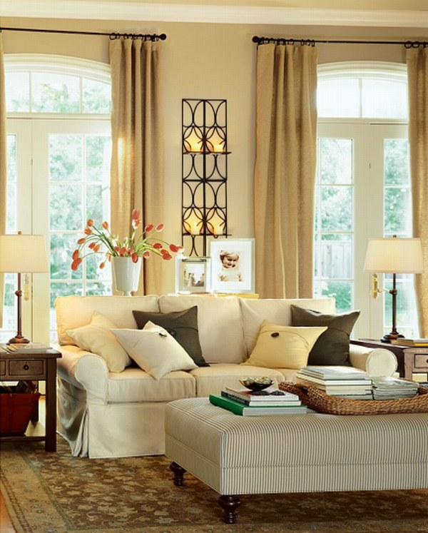 living room wall sweet decoration ideas