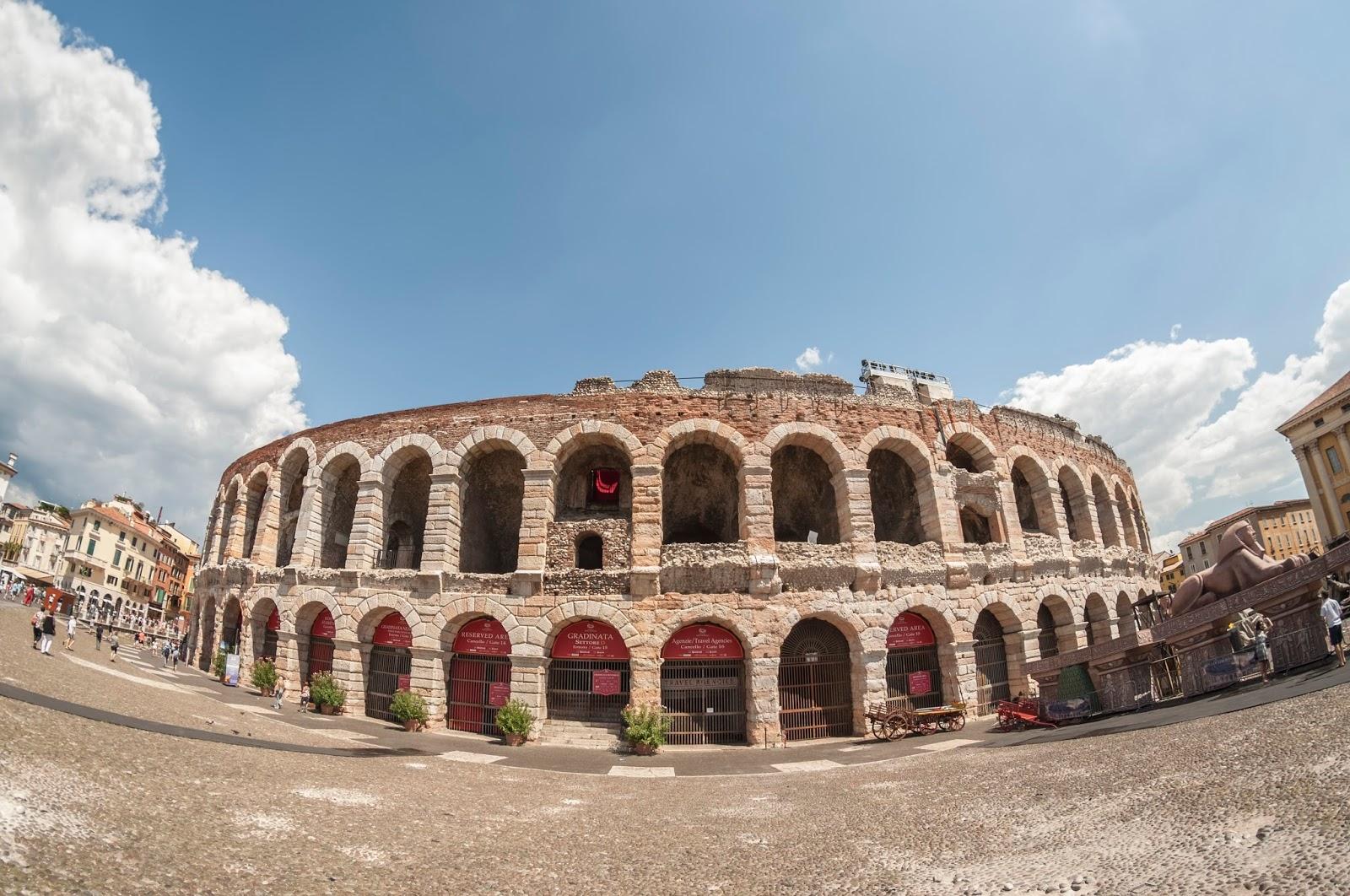 Vérone City Trip Italie amphithéatre