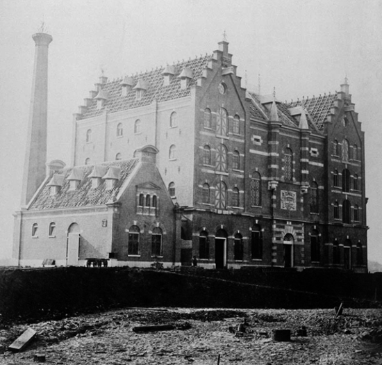Heineken brewery in Amsterdam, 1867