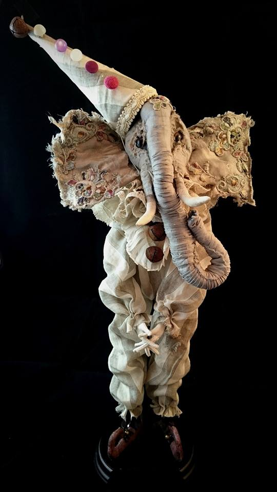 szmaciany słonik