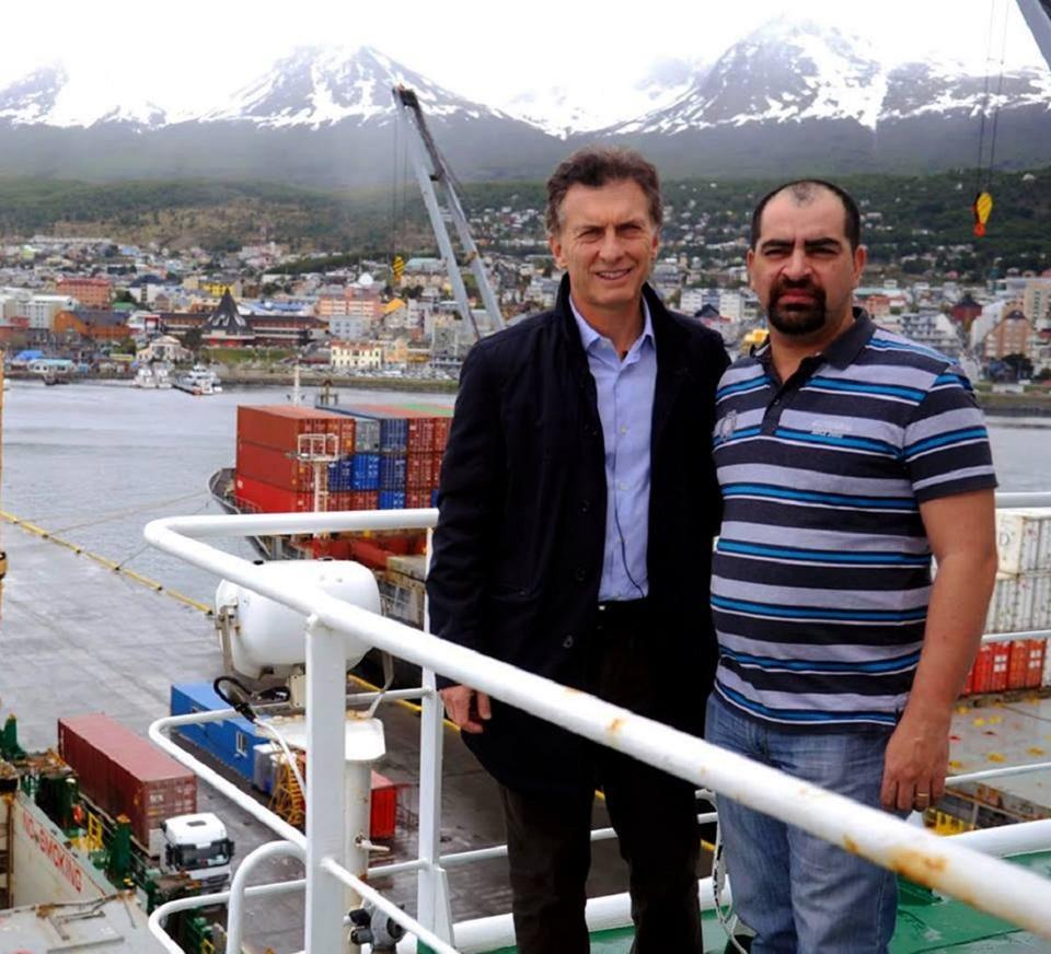 Macri hablo de mafias en puerto de Ushuaia