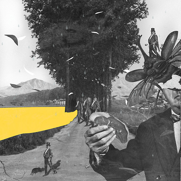 André Bergamin. Collage