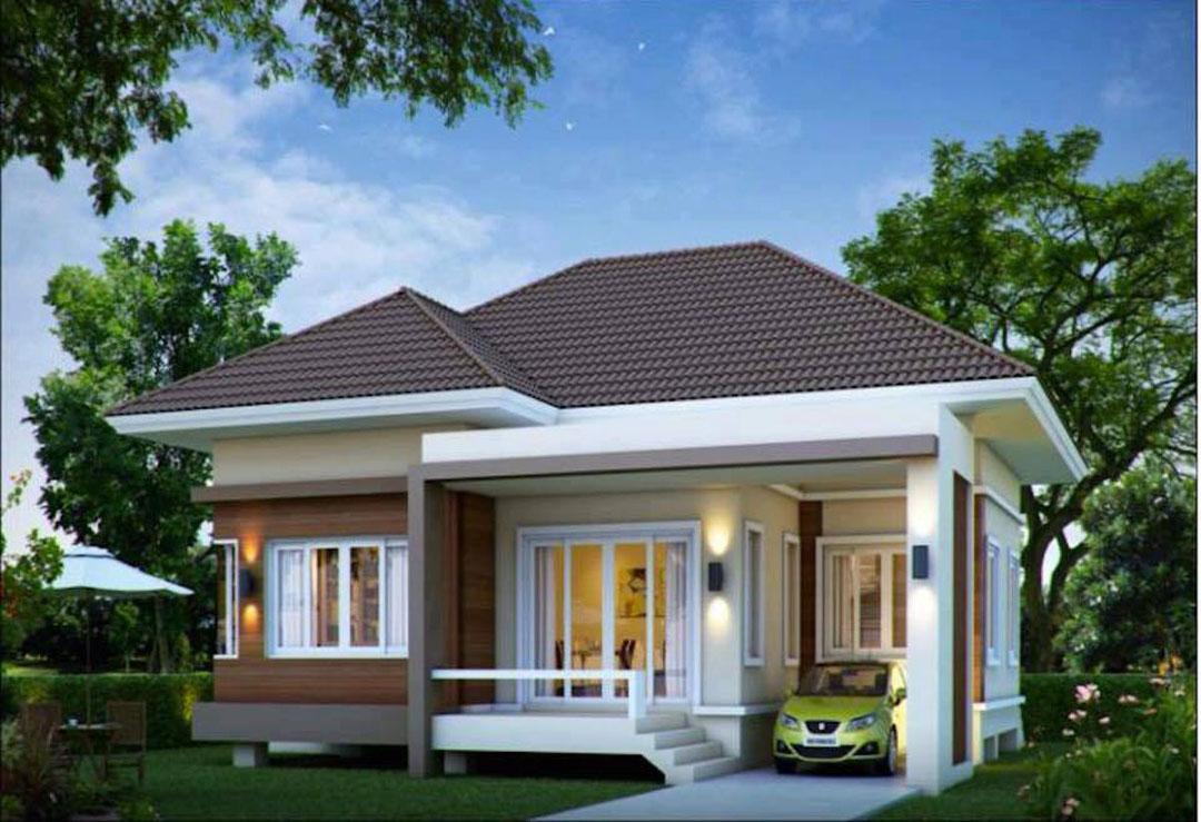 Rumah Minimalis Satu Lantai Tampak Depan 2017  Desain Rumah
