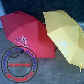 payung lipat 3 promosi