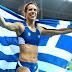 Χρυσή η Στεφανίδη, έστειλε την Ελλάδα στα ουράνια! (videos)