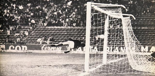 México y Chile en partido amistoso, 28 de agosto de 1968