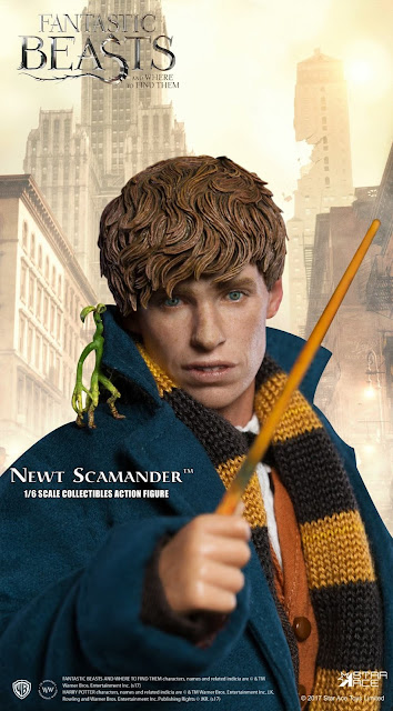 "osw.zone Fantastic Beast and where to find it is a 2016 British-American fantasy movie directed by David Yates.  Star Ace Toys 1 / 6. Scale ""Fantastic Beast and Where to Find It"" Newt Scamander Figure"