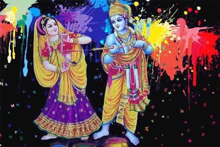 How is Holi Celebrations Related to Sri Krishna?