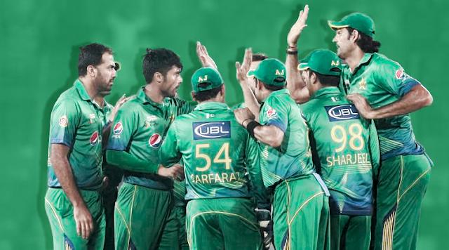 Pakistan Cricket Team 2017