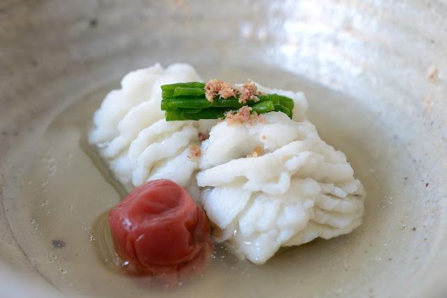 Image of hamo soup by Naoko Takagi