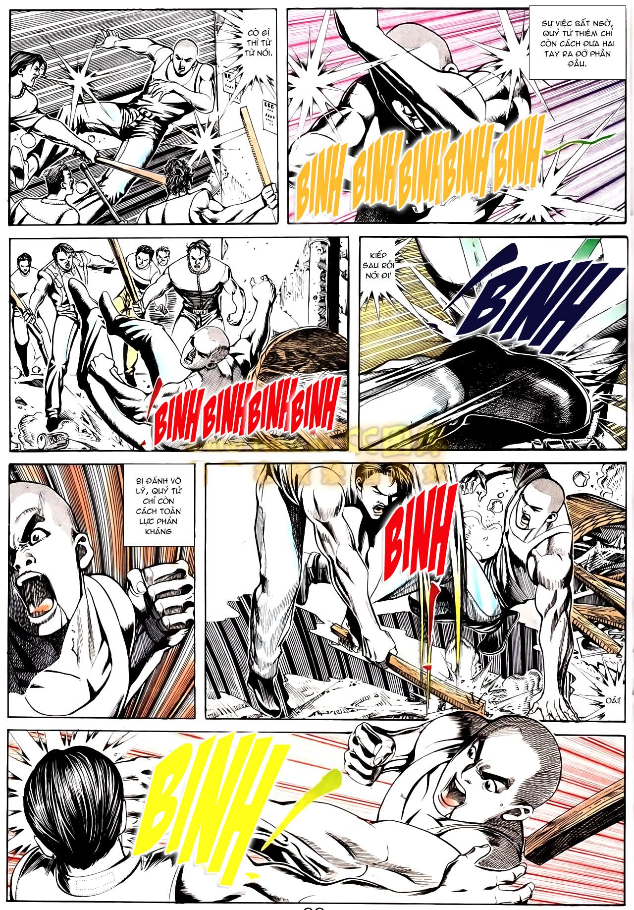 Người Trong Giang Hồ chapter 166: bùng nổ trang 8