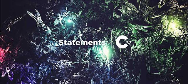 Pengertian dan Macam-Macam Statements ( Pernyataan ) - Belajar C++