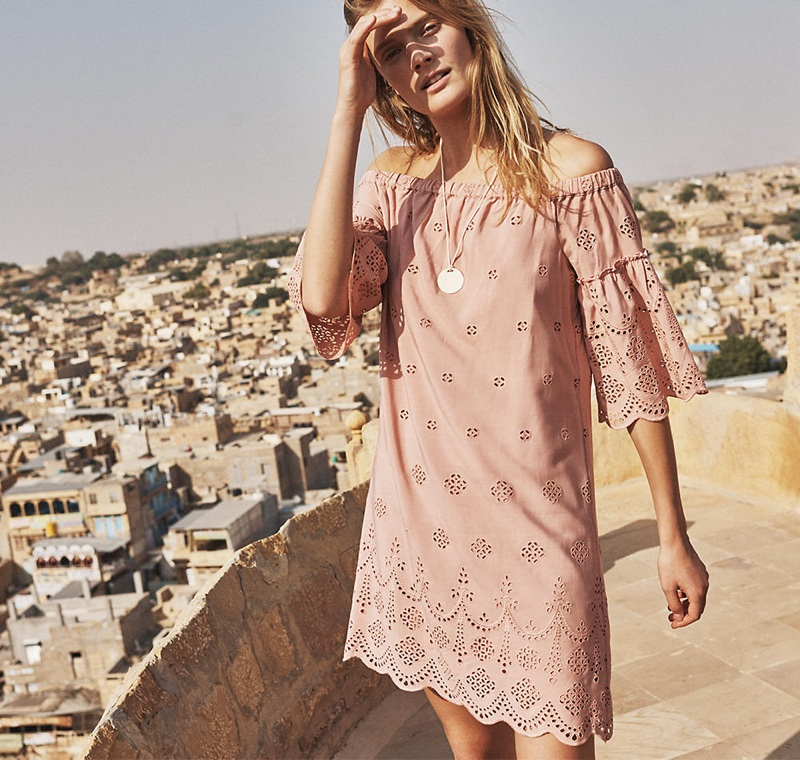Madewell March 2017 Lookbook featuring Constance Jablonski