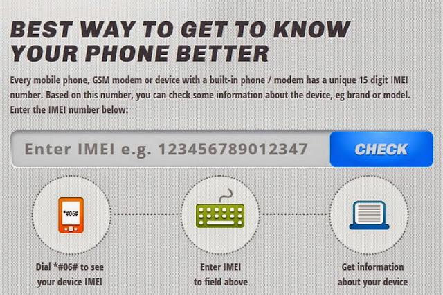 Banyak cara untuk mengecek IMEI gadget kita
