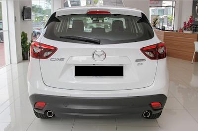 Eksterior Belakang Mazda CX-5