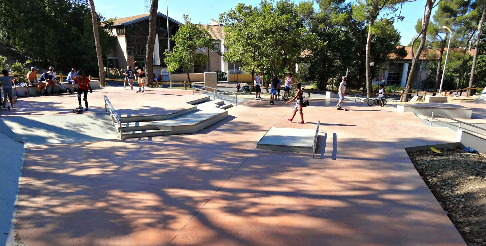 Nouveau Skatepark Fuveau