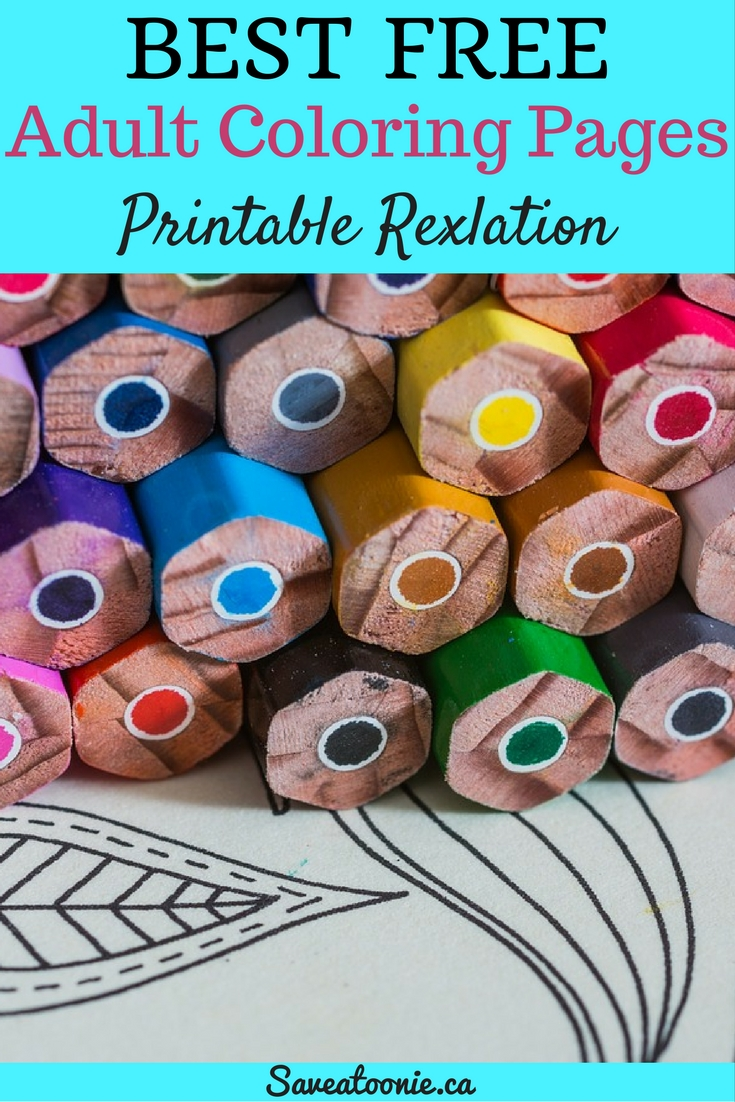 Start Coloring for Your Health- Free Adult Coloring Pages