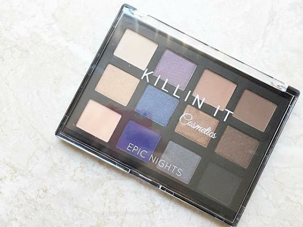 Killin' It Cosmetics - Epic Nights Palette Review & Swatches!