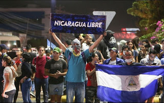 Blog Isla Mía Nicaragua guarimbas