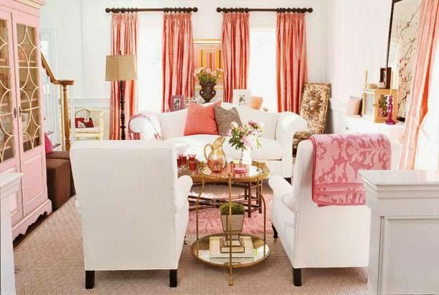 decorar sala femenina