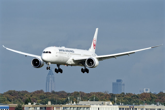 boeing 787-9 dreamliner japan airlines
