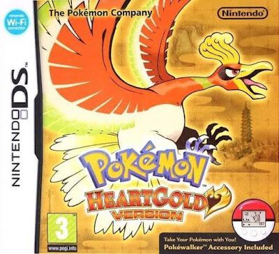 โหลดเกม ROM Pokemon HeartGold .nds