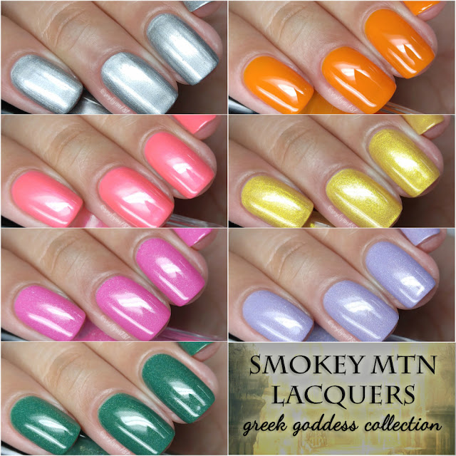 Smokey Mountain Lacquers - Greek Goddess Collection