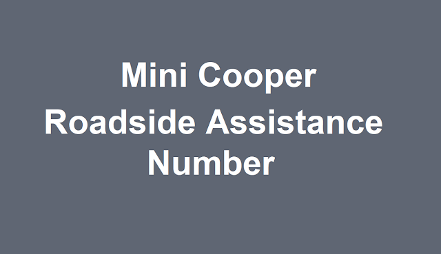 Mini Cooper Roadside Assistance Number