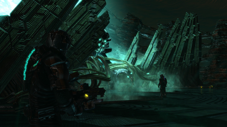 Mika Artwork Dead Space 3 Alien Machine