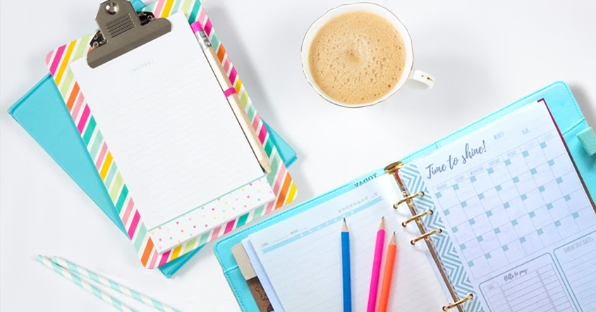 Time to get organized get your free planner templates for Time design planner