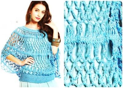 Jersey Fashion Crochet Patron