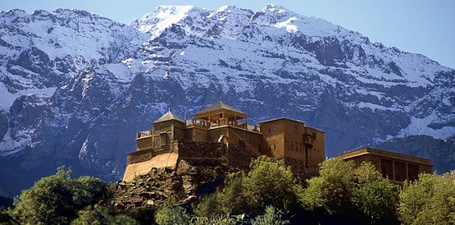 Kasbah Du Toubkal, Pegunungan Atlas High, Maroko