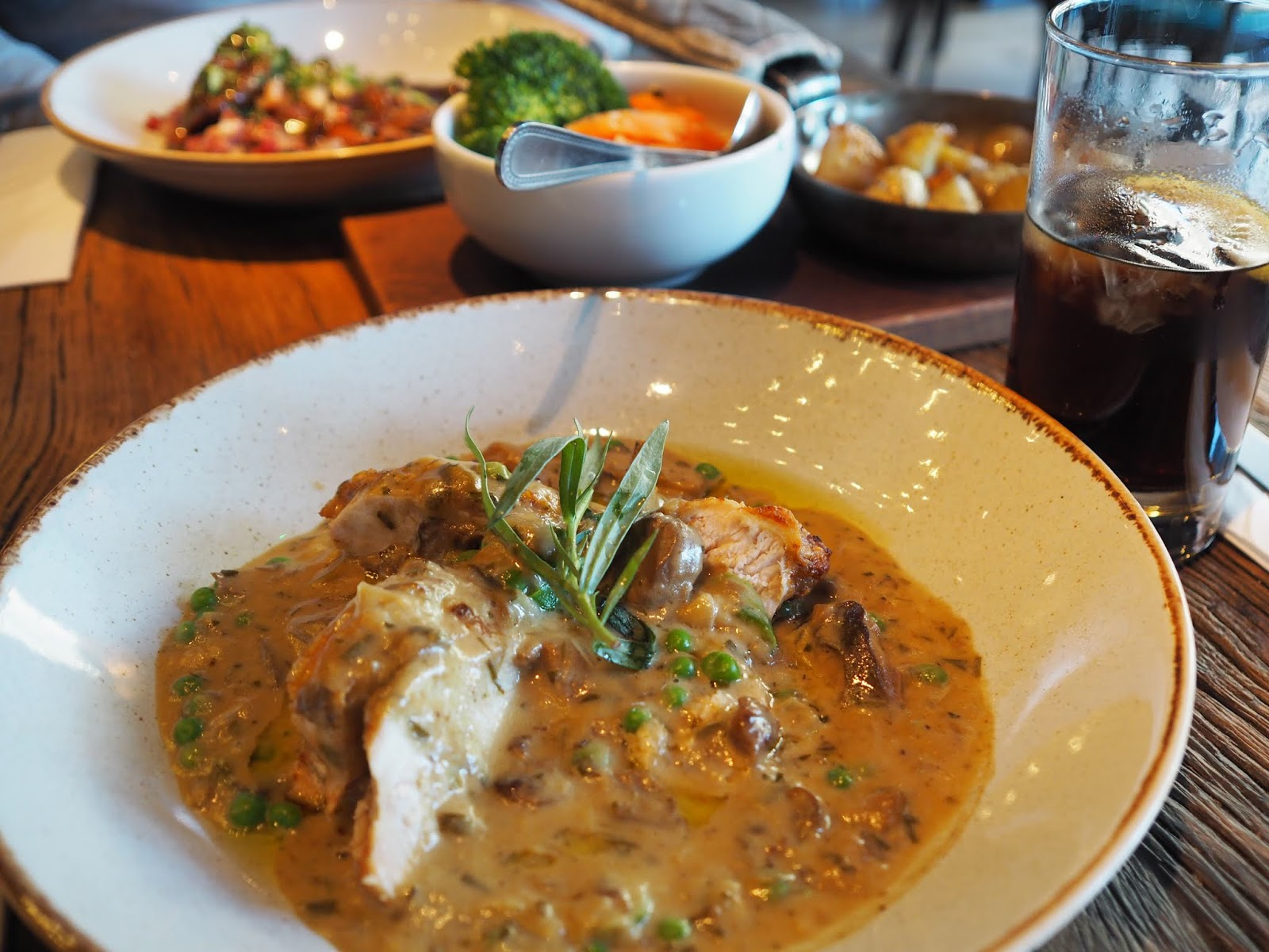 Bistrot Pierre Middlesbrough restaurant review chicken main course