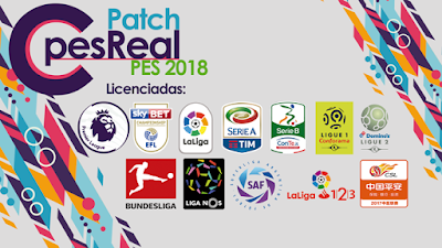 PES 2018 XBOX 360 C-PesReal Patch AIO Season 2017/2018