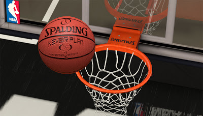 NBA 2K13 Never Flat Spalding Ball Mod